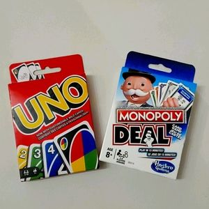 For Game Night! - Uno/Monopoly Deal